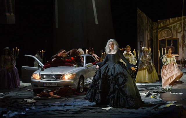 Rameau: Hippolyte et Aricie - Sophie Rennert as Phèdre - Nationaltheater Mannheim