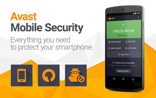 تحميل تطبيق Avast Mobile Security pro الاصدار المفعل مجانا