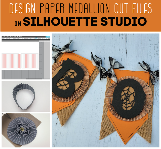 silhouette america blog, silhouette 101, paper crafts, paper medallions, cameo 4