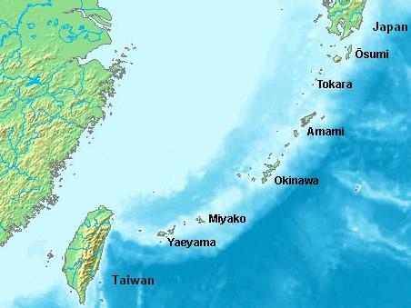 isole Ryūkyū
