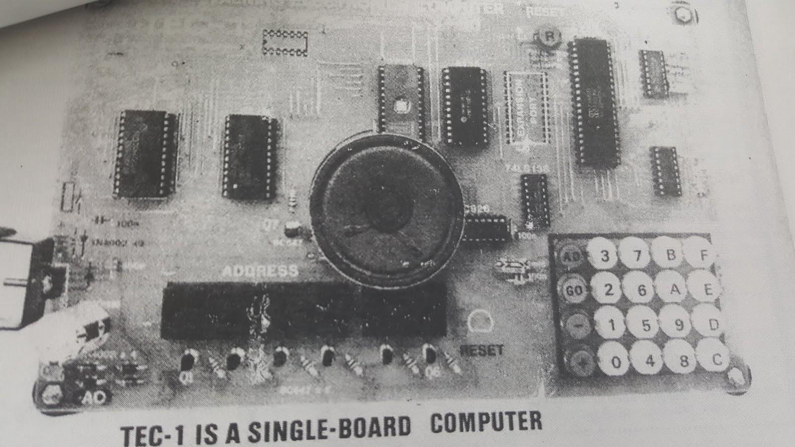 JonDent - Exploring Electronic Music: Tec 1D - computer