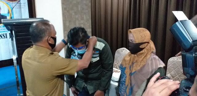 Kadis PUPR Provinsi Jambi Secara Resmi Membuka Pelatihan Laboratorium Beton.