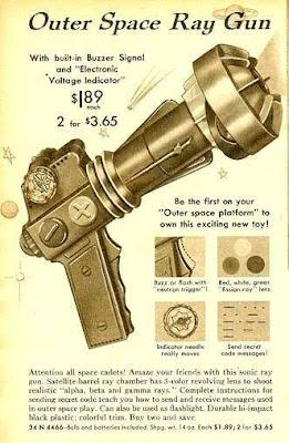 Outer Space Ray Gun