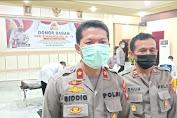 Polres Bengkayang Lakukan Donor Darah, Hari Bhayangkara yang Ke-75