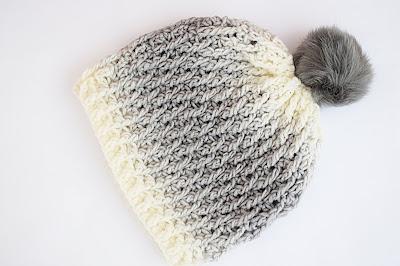 1 - Crochet Imagen Gorro gris a crochet y ganchillo muy fácil y sencillo por Majovel Crochet