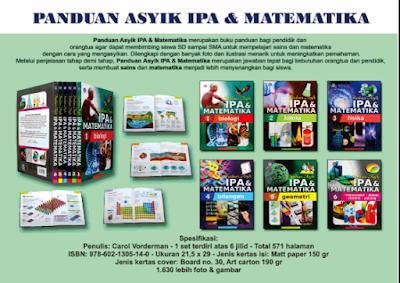 Jual Panduan Asyik IPA dan Matematika