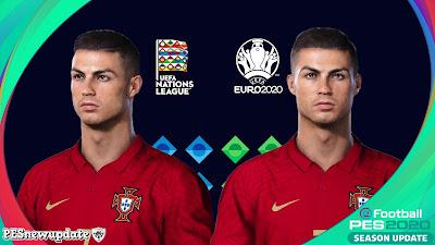 PES 2020 Faces Cristiano Ronaldo by Hugimen