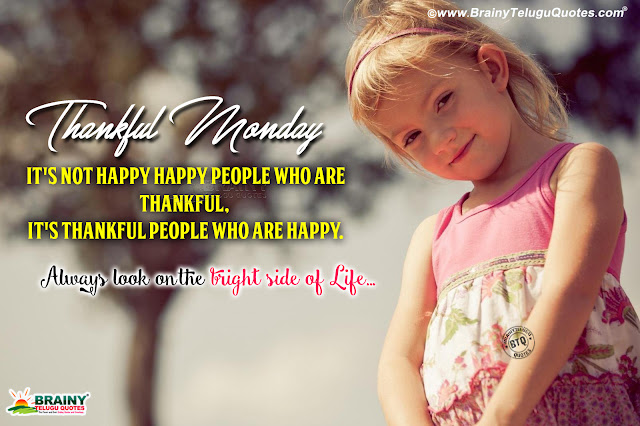 Thankful Quotes in english, Thankful Greetings messages in English, best english online Quotes