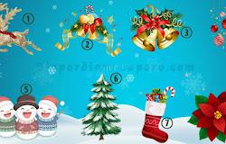 Elige un adorno navideño y descubre que trae para ti el nuevo año