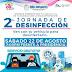 Invitación a automovilistas: segunda jornada de desinfección