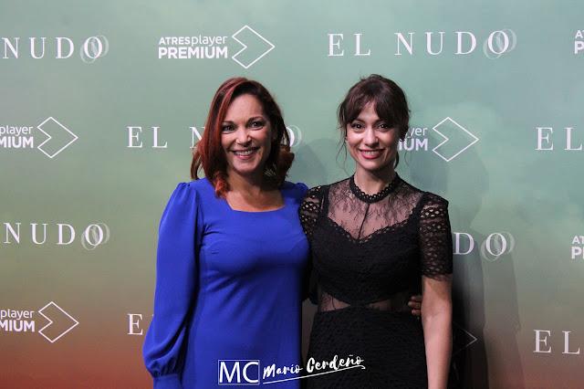 Cristina Plazas y Natalia Verbeke en la presentación de 'El Nudo'