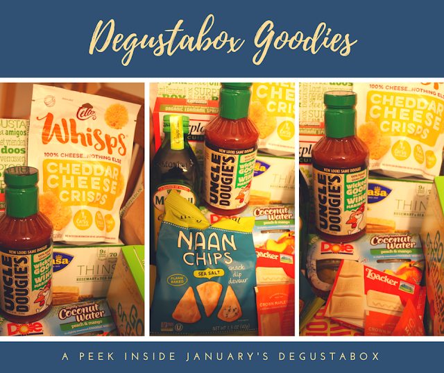 Degustabox January foodie treasures