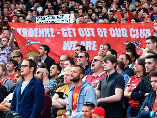 Kroenke leaves Arsenal fans heart-broken and disappointed yet again
