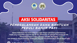 IKMP Kudus dan JPA Pati Lakukan Aksi Solidaritas Galang Dana Peduli Banjir