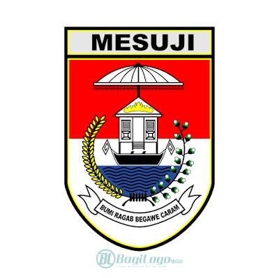 Kabupaten Mesuji Logo Vector