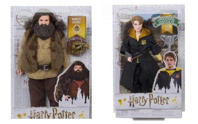 Новые куклы по Гарри Поттеру: Хагрид и Седрик Диггори