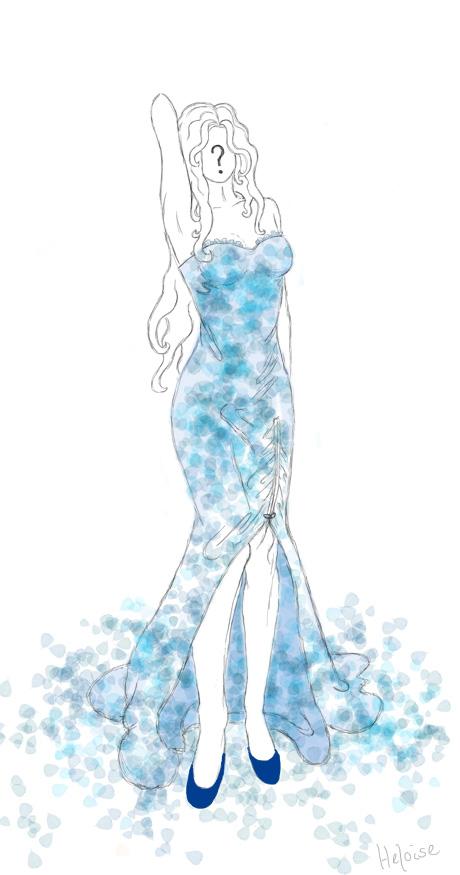 Schone kleider zeichnen beliebte modelle der - Kleider zeichnen ...
