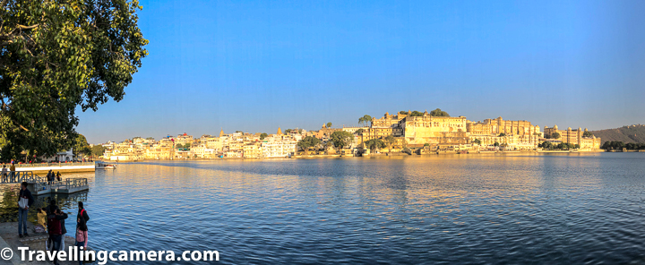 Earlier I thought that all these ghats around Lake Pichola are connected and one was walk around the ghats while enjoying different views of the lake and it's surrounding. But that's not the case. There is no walking path around the lake, and this is something I would highly recommend to Udaipur Smart-city authority to consider as it can be great way to enjoy the lake views. And Udaipur plans to build something like that, vehicles/cycles ideally should not be allowed on this pathway so that people can walk comfortably. Apart from that cleanness would be the key. Certainly there should be business opportunities for small vendors & artists on this pathway to keep the environment alive. From tourism standpoint, I lot more can be done on this front.    Related blogpost - Stunning Graffitis & beautiful Art around the streets inside the city of lakes Udaipur in Rajasthan, India