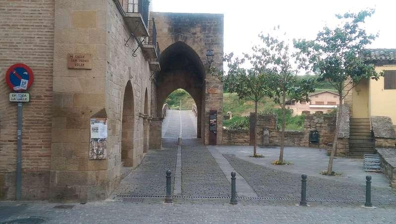 Puente de Reina, Nawarra, Camino, Jola Stepień