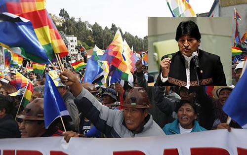 Evo Morales dice que es legal y constitucional otro referendo
