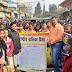 राष्ट्रीय बालिका दिवस के अवसर पर चलाया गया हस्ताक्षर सह जागरूकता अभियान