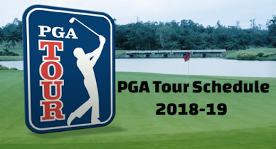 golf, PGA Tour,  Schedule,  2018, 2019, season,  announced, fedexcup, playoffs,  significant, revamped,  changes.