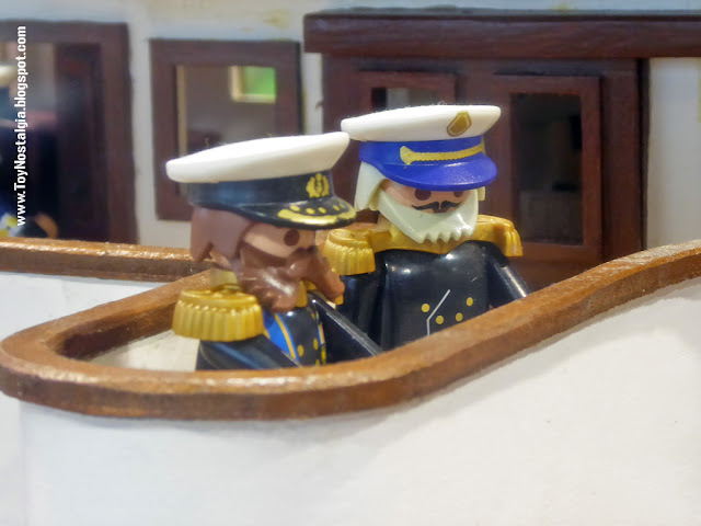 "Diorama Playmobil ""TITANIC"" (Cocheras de Sants - 2020)"