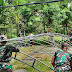 Satgas Yonif 512/QY Bantu Masyarakat Siapkan Acara Adat Di Perbatasan Papua