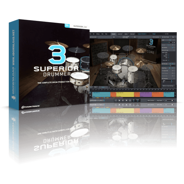 Toontrack Superior Drummer 3 For WINDOWS✔️ LAST VERSION ✔️