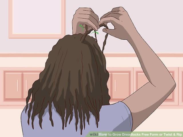 how to twist dreadlocks