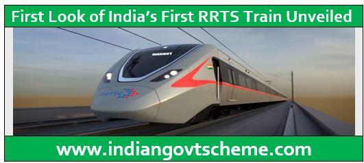 First RRTS Train