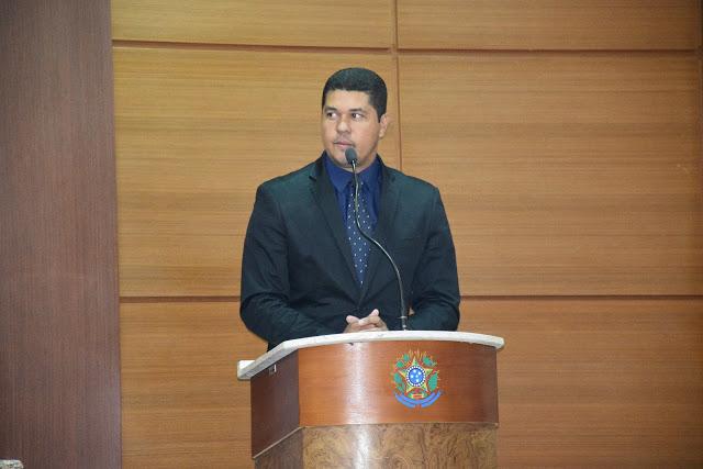 Hoje é aniversário do vereador Eduardo Ribeiro; felicidades!