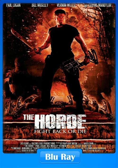 The Horde 2016 720p BluRay 650MB x264 Poster