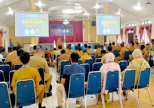 Pemkab Tanbu melaunching aplikasi SiSADAP, Senin (24/02)
