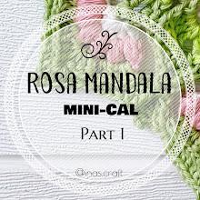 Rosa Mandala mini-CAL (part 1)