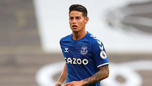 James Rodriguez Ingin Tinggalkan Everton di Akhir Musim, Ini Alasannya