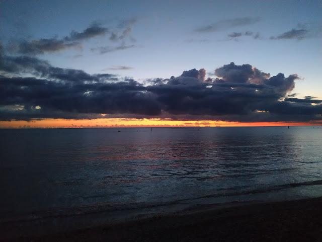 Sunrise on the Adriatic Roseto degli Abruzzi 6 Ottobre 2019 ore 5.30