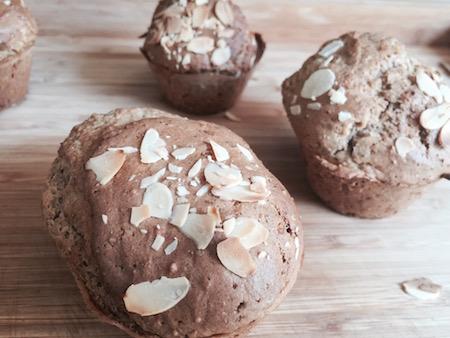comment faire des muffins aux amandes maison