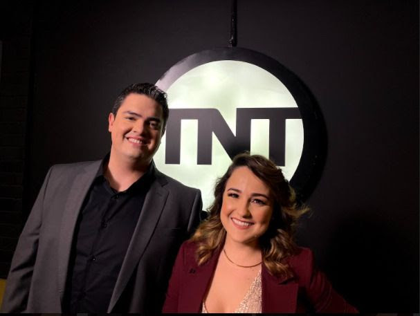 Michel Arouca e Aline Diniz