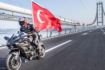 Tembus 400 Km/Jam, Rider Turki Ini Lampaui Top Speed MotoGP