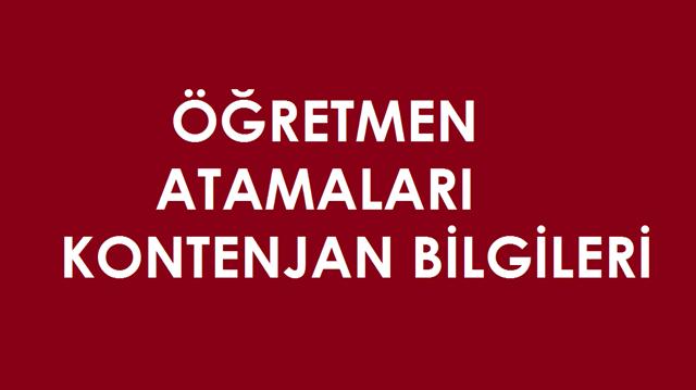2018 Öğretmen Atama Kontenjanları ve Başvuru Tarihleri Belli Oldu