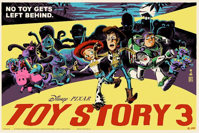 Toy Story 3 Mondo Poster by Francesco Francavilla