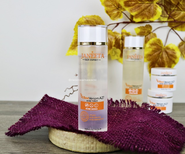 Review Janeeta Acne Toner