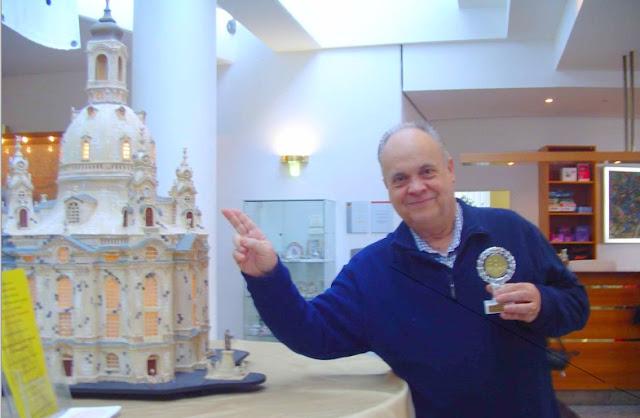 El ajedrecista Jaume Anguera en el Campeonato de Europa de Veteranos Dresden 2006