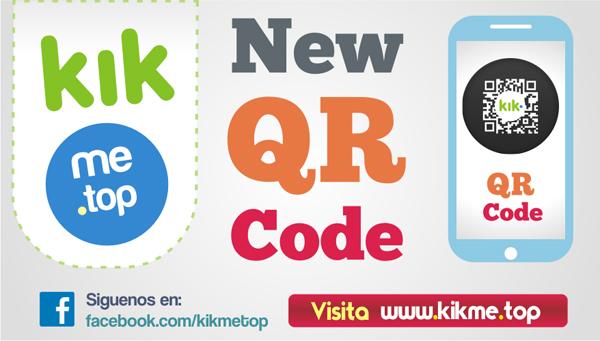 Codigo QR en Kik