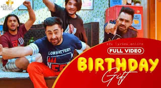 BIRTHDAY GIFT LYRICS | TRANSLATION | SHARRY MANN