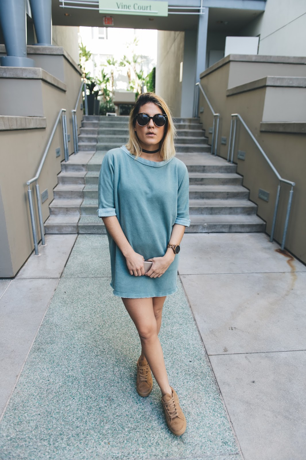 Casual Sweater Dress - Style Blogger Taylor Winkelmeyer
