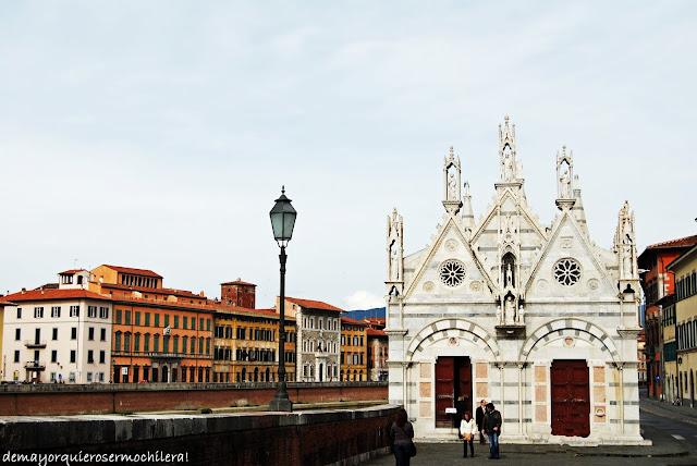 Iglesia Santa Maria della Spina, Pisa