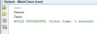 Contoh Menformat String Dengan Printf Java