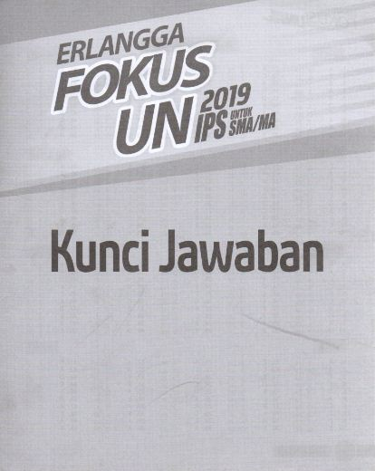 Lin lain untuk kumpulan soal siap unbk sma 2019/20. 25 Kunci Jawaban Erlangga Xpress Un 2019 Bahasa Indonesia Smp Pics Pedia Edu